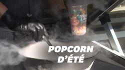 Le popcorn glacé à l'azote liquide affole les papilles au