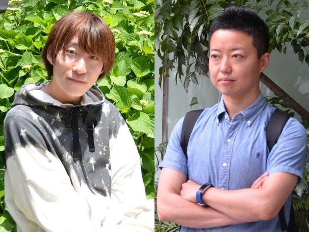 なかけんさんと丸山真由さん(左から)