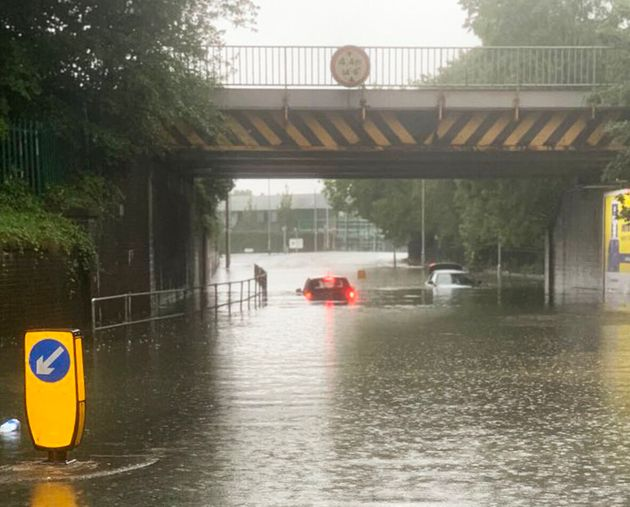 UK Weather: Floods Hit As Storms Dump Half A Months Rain In Just 24 Hours