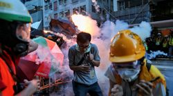 Police Fire Tear Gas, Rubber Bullets At Hong Kong