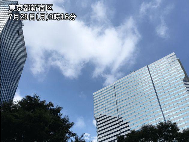 東京都新宿区7月29日(月)9月16日