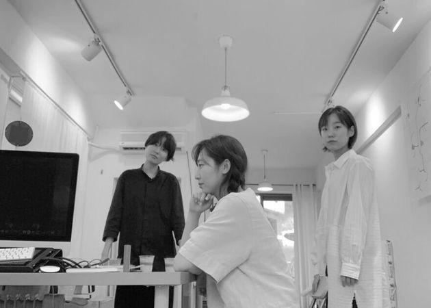 에루어 편집팀. (왼쪽부터) 손아용, 이빈소연,