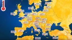 Κι όμως η υψηλότερη θερμοκρασία στην Ευρώπη έχει καταγραφεί στην