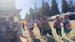 Spari sulla folla alla festa dell'aglio in California: 3 morti, ucciso il killer