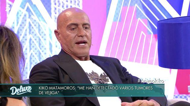 Kiko Matamoros habla en 'Sábado Deluxe' (Telecinco) de sus tumores: