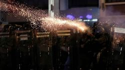 Hong Kong Police Fire Tear Gas During Another Day Of