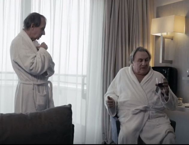 Houellebecq e Dépardieu insieme nel film Thalasso:
