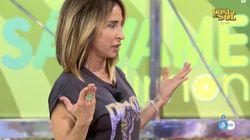 María Patiño deja ver en 'Socialité' el tatuaje que se hizo por