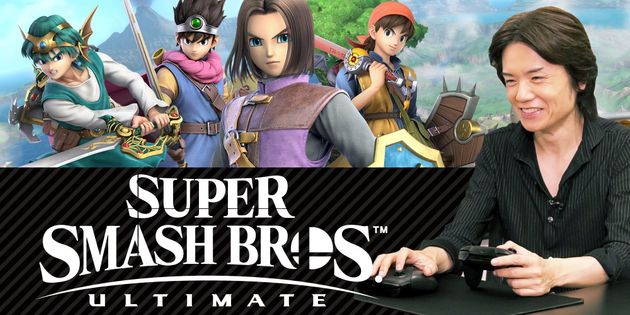 Super Smash Bros  Ultimate Version 4 0 0 and Dragon Quest Hero DLC