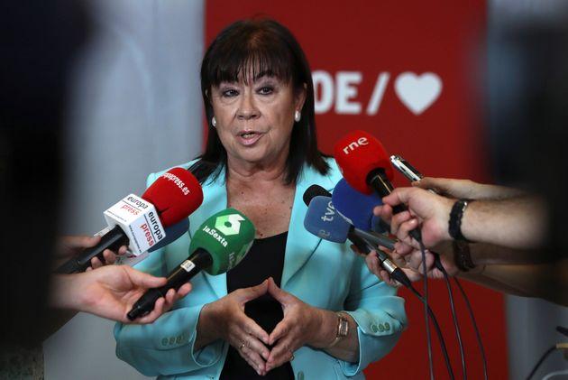 Narbona dice que la prioridad del PSOE es evitar elecciones con