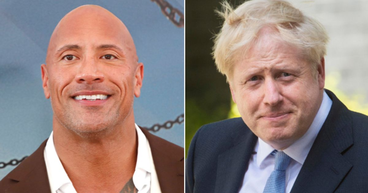 Dwayne The Rock Johnson Praises Boris Johnson Deletes It