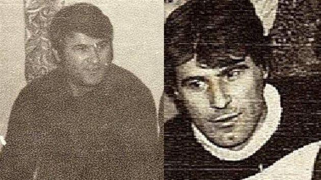 L'oncle d'Adis (à gauche) et son papa (à droite), tous deux assassinés par l'armée