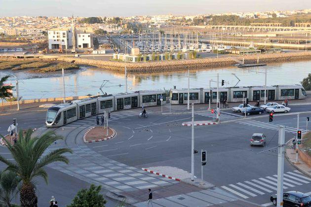 Le tramway de Rabat a été inauguré en