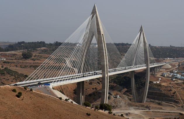Le pont à haubans de Rabat a été inauguré en