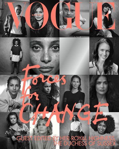 Meghan direttrice di Vogue per un numero. Ma non mette la Regina tra le 15 donne più