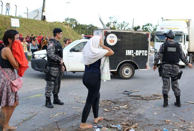 Em maio, 55 detentos foram mortos em presídios de Manaus, que já havia registrado um massacre...