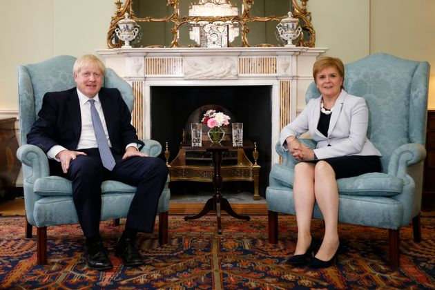 Nicola Sturgeon Accuses Boris Johnson Of Secretly Pursuing No-Deal Brexit