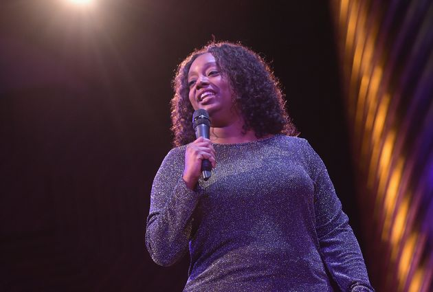 Comedian Tracey Ashley was one of six comics hand-picked by Tiffany Haddish for