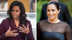 O conselho precioso sobre maternidade de Michelle Obama para Meghan
