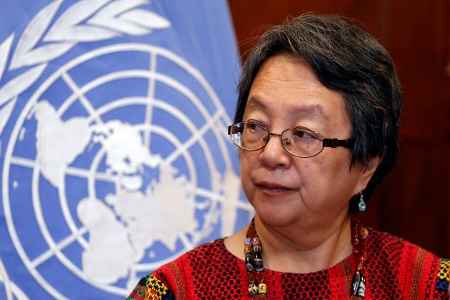 Victoria Tauli-Corpuz, UN Special Rapporteur on the rights of indigenous people, was called a terrorist...