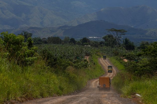 A Dole banana plantation in the Filipino village of San Jose, Impasugong town in Bukidnon province Mindanao....