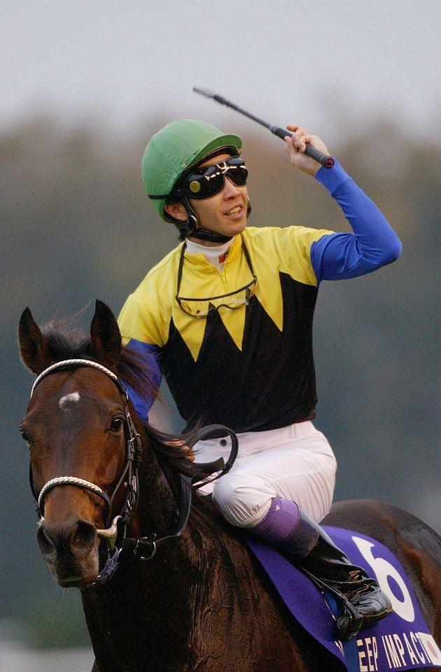 ディープインパクトと武豊騎手(2006年)