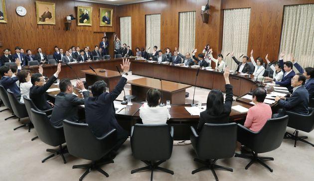 参院内閣委員会