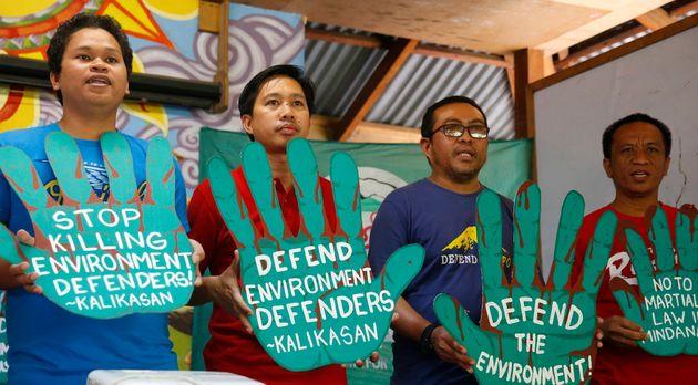 Πάνω από 160 υπερασπιστές του περιβάλλοντος δολοφονήθηκαν το