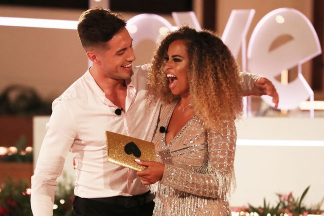 Love Island: Mauras Face Was A Picture As Amber And Greg Were Named 2019 Winners