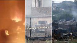 Aereo militare si schianta sulle abitazioni in Pakistan: 19 vittime