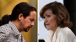 La vida sigue igual: Calvo pide apoyo externo a Podemos e Iglesias insiste en la