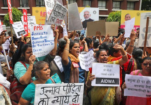 Des activistes indiennes sont descendues dans les rues pour dénoncer une vengeance, ce mardi 30
