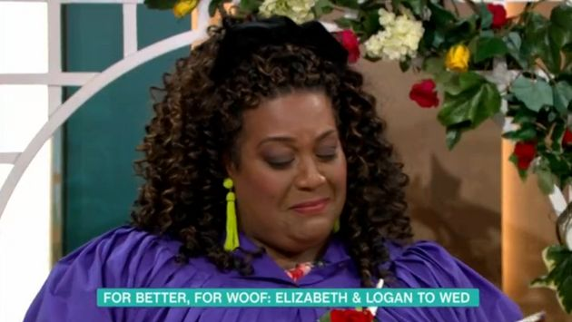 Alison Hammond could not hold it together as she officiated the