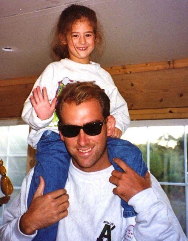 Chris était un papa cool.
