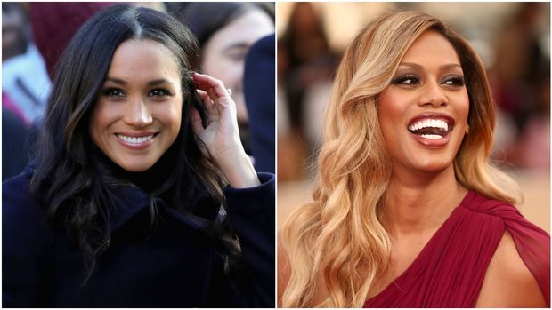 Meghan Markle, Laverne Cox (Getty Images)