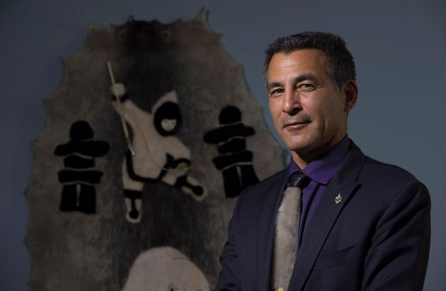 Nunavut MP Hunter Tootoo poses for a portrait in his Ottawa office on Sept. 21,