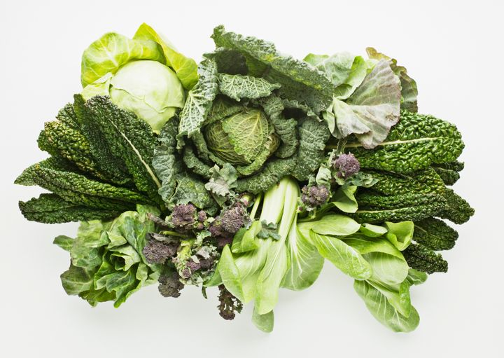 Vegetables in the cruciferae family include broccoli, cauliflower, kale, cabbage, watercress, radishes, mustard greens and wild arugula.