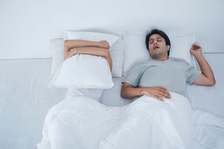 Having a glass of wine at the end of the day can lead to excessive snoring.