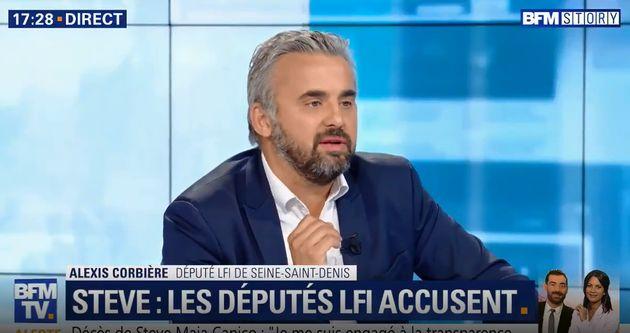 Sur BFMTV, Alexis Corbière a déploré la discrétion du ministre de l'Intérieur...