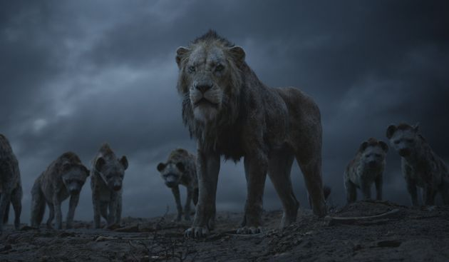 Scar and the hyenas in