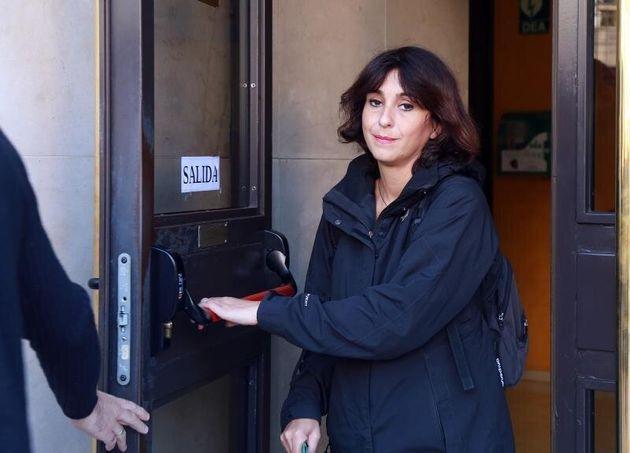 Juana Rivas, en los juzgados de