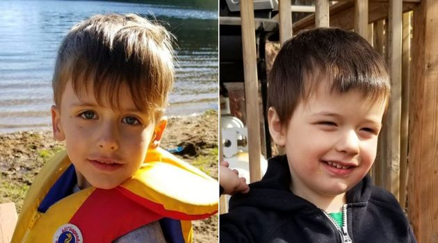 Jack, 5, and his brother Alex, 4, both have autism. Their mother Lindsay Cote has received $20,000 from...