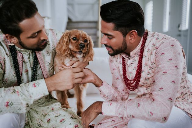 These Two Grooms Got Married In A Strikingly Beautiful Hindu