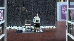 일본 최대 규모 국제예술전에 평화의 소녀상이