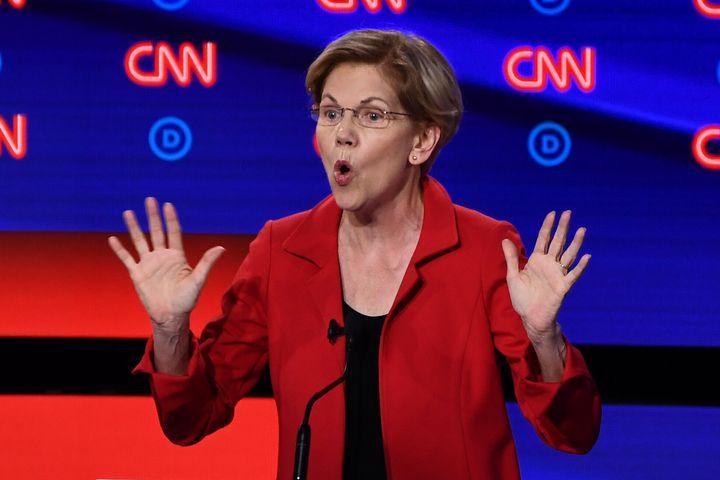 Sen. Elizabeth Warren (D-Mass.) argued that decriminalizing unauthorized border-crossing would help prevent things like famil