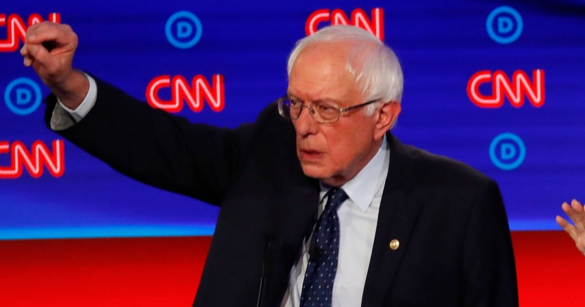 Bernie Sanders Bashes CNN For Pairing Drug Company 'Talking Points' With Its Ad Money thumbnail