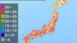 東京・仙台で今年初の猛暑日か 岐阜や山口では、37度になる見込み