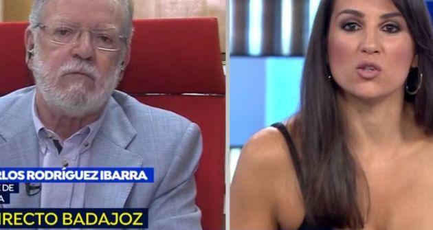 Ibarra aprovecha un malentendido con la presentadora de 'Espejo Público' para soltar un 'hachazo' épico...