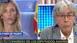 El tenso encontronazo de Álvarez de Toledo en 'Espejo Público' tras lo que ha dicho este periodista sobre