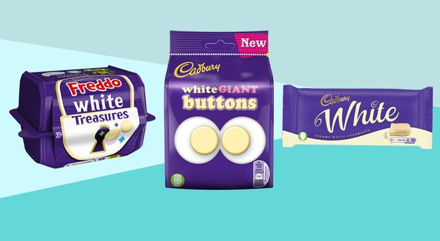Cadburys Is Launching White Chocolate Freddos, Buttons and Treasures